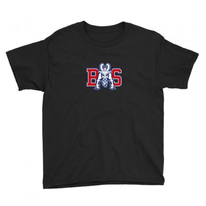 Blue Mountain State Logo Youth Tee Designed By Arum