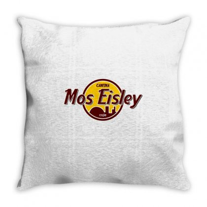 Mos Eisly Cantina Throw Pillow Designed By Shadowart