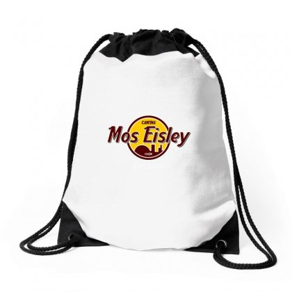 Mos Eisly Cantina Drawstring Bags Designed By Shadowart
