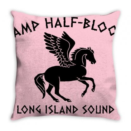 Half Blood Throw Pillow Designed By Arum