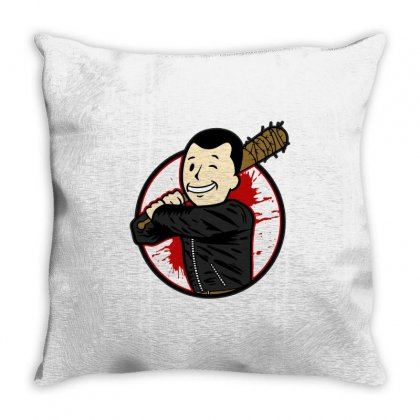 Negan Boy Throw Pillow Designed By Shadowart
