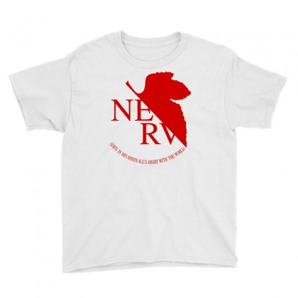 Nerv Youth Tee Designed By Shadowart