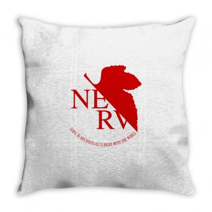 Nerv Throw Pillow Designed By Shadowart