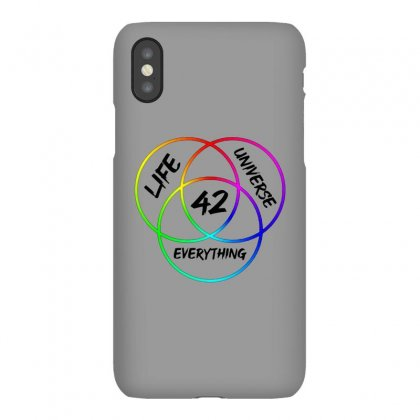 42 The Answer To Life Merch Iphonex Case Designed By Agus Loli