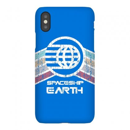 Earth With Distressed Logo Iphonex Case Designed By Arum