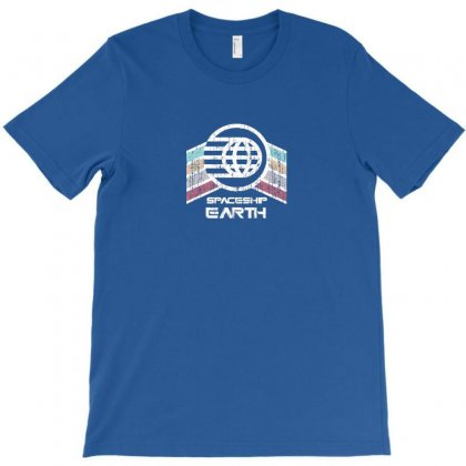 Earth With Distressed Logo T-shirt Designed By Arum