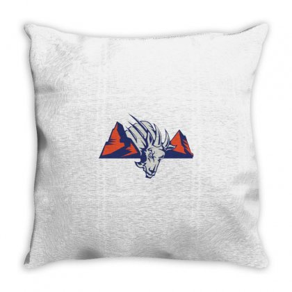 Blue Mountain State Logo Throw Pillow Designed By Agus Loli