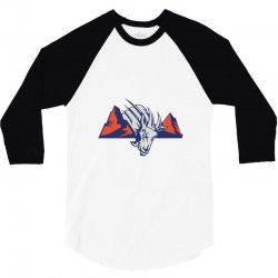 blue mountain state logo 3/4 Sleeve Shirt | Artistshot