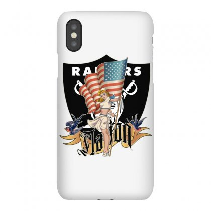 Raiders Nation Iphonex Case Designed By Tiococacola