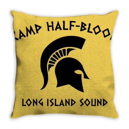 Half Blood Throw Pillow Designed By Agus Loli