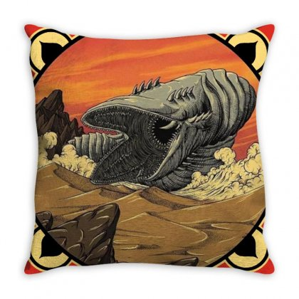 Visit The Arrakis Throw Pillow Designed By Arum