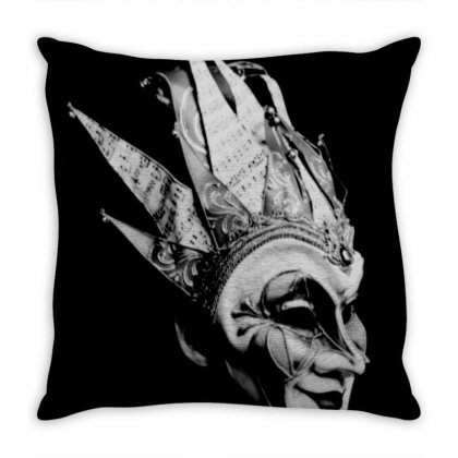Boris Brejcha Logo Throw Pillow Designed By Agus Loli