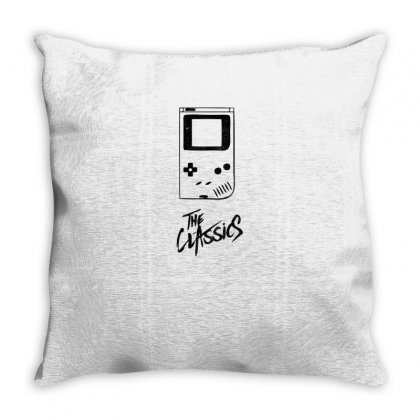 The Classic Throw Pillow Designed By Alpharose