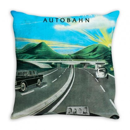 Kraftwerk Merch Throw Pillow Designed By Agus Loli