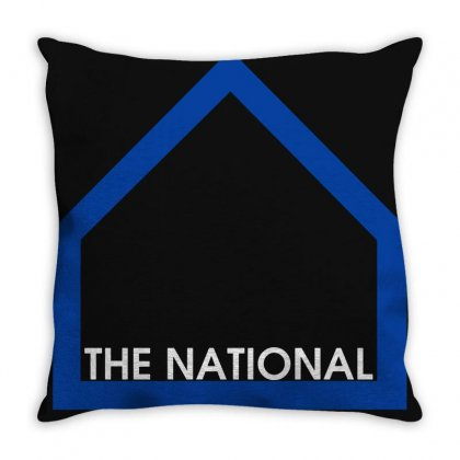The National Band Throw Pillow Designed By Agus Loli