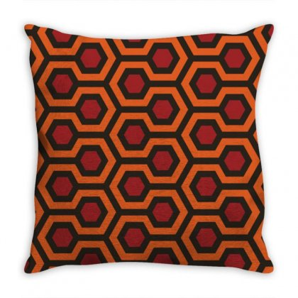 The Shining Pattern Throw Pillow Designed By Agus Loli