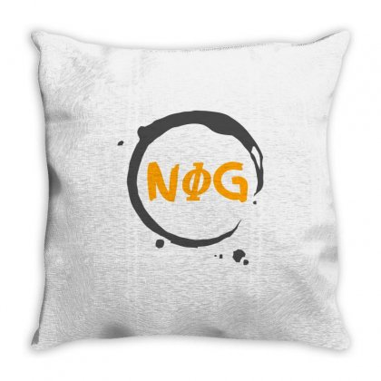 Nog 01 Throw Pillow Designed By Shadowart