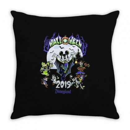 Halloween 2019 Disneyland Throw Pillow Designed By Kakashop