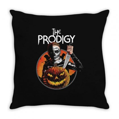 The Prodigy Halloween 2019 Throw Pillow Designed By Kakashop