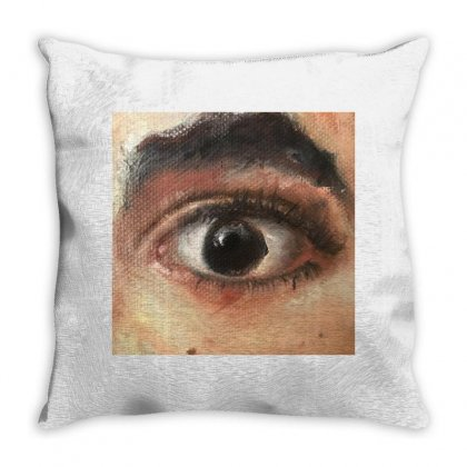 Eye See You Throw Pillow Designed By A M A N I  A R T