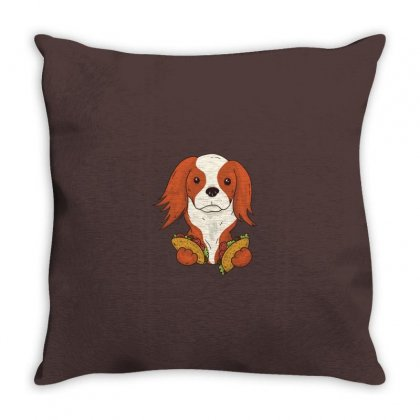 Taco Puppy Throw Pillow Designed By Disgus_thing