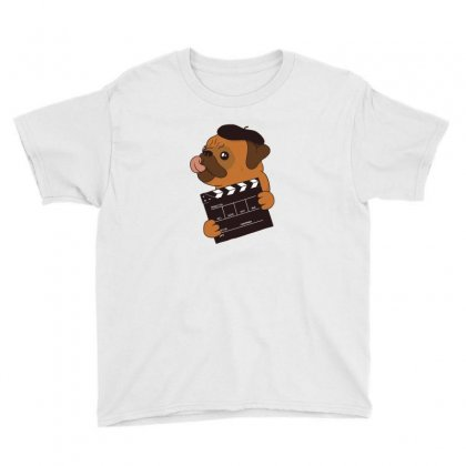 Pug Director Youth Tee Designed By Disgus_thing