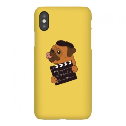Pug Director Iphonex Case Designed By Disgus_thing