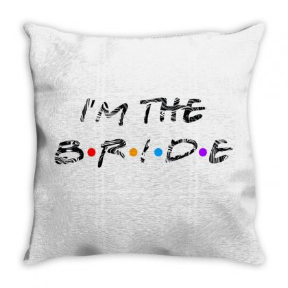 I'm The Bride Throw Pillow Designed By Gurkan