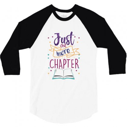 Just One More Chapter 3/4 Sleeve Shirt Designed By Seda