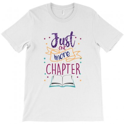 Just One More Chapter T-shirt Designed By Ofutlu