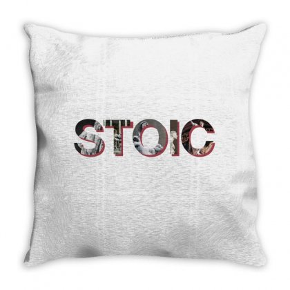 Stoic Throw Pillow Designed By Hasret