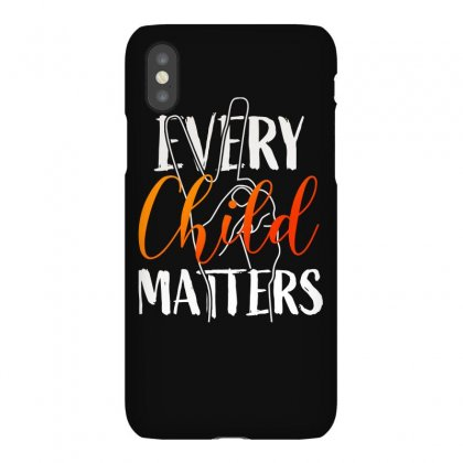 Every Child Matters For Dark Iphonex Case Designed By Seda