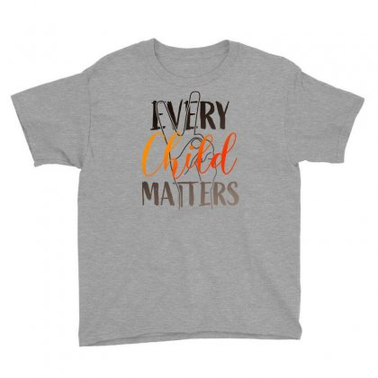 Every Child Matters For Light Youth Tee Designed By Seda