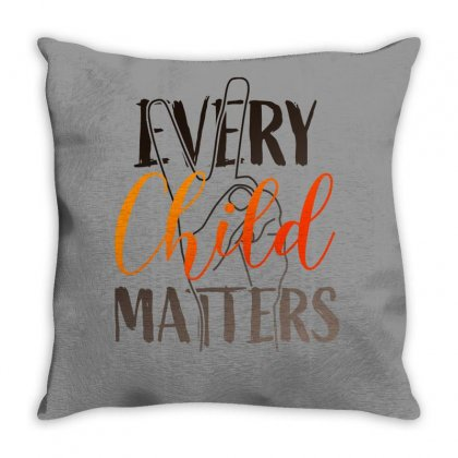 Every Child Matters For Light Throw Pillow Designed By Seda