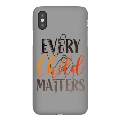 Every Child Matters For Light Iphonex Case Designed By Seda