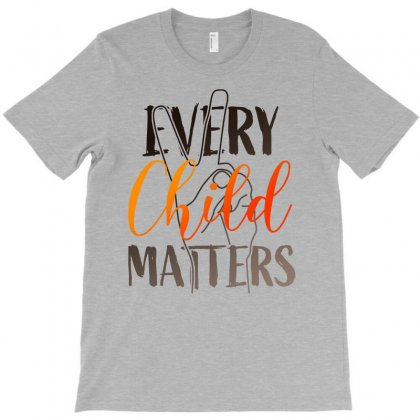 Every Child Matters For Light T-shirt Designed By Ofutlu