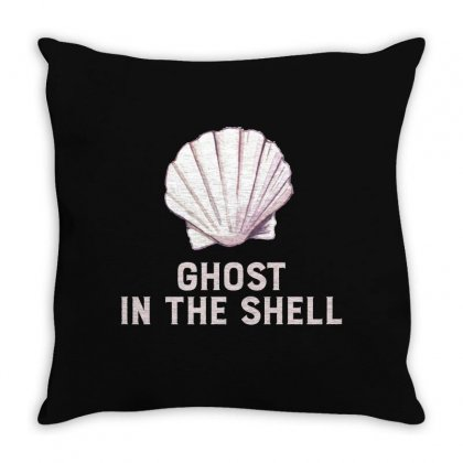 Ghost In The Shell For Dark Throw Pillow Designed By Hasret