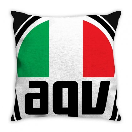 Agv Racing New Throw Pillow Designed By Akhtar21