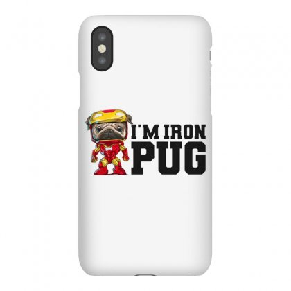 Iron Pug Iphonex Case Designed By Disgus_thing