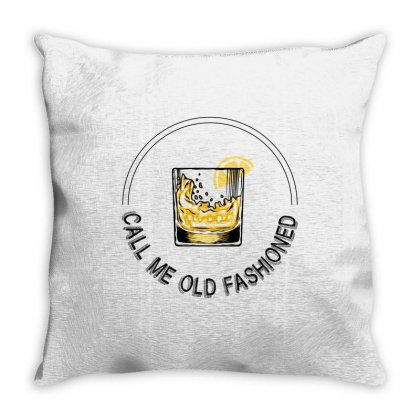 Call Me Old Fashioned For Light Throw Pillow Designed By Hasret