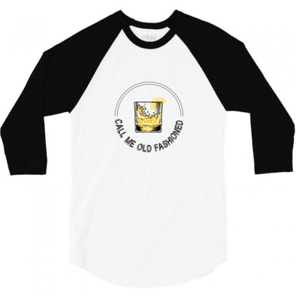 Call Me Old Fashioned For Light 3/4 Sleeve Shirt Designed By Hasret