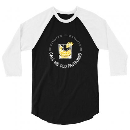 Call Me Old Fashioned For Dark 3/4 Sleeve Shirt Designed By Hasret