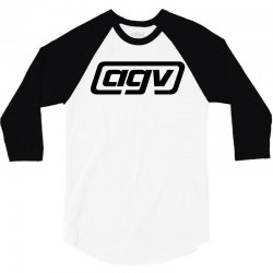 agv racing black logo 3/4 Sleeve Shirt | Artistshot