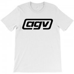 agv racing black logo T-Shirt | Artistshot