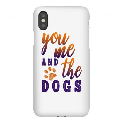 You Me And The Dogs Iphonex Case Designed By Gurkan