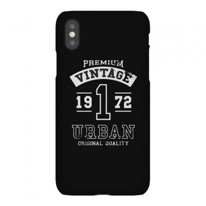 Vintage 1972 Iphonex Case Designed By Disgus_thing