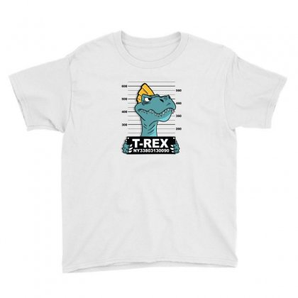 Cool T Rex Dinasour Youth Tee Designed By Disgus_thing