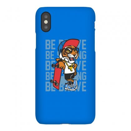 Cool Tiger Skateboard Iphonex Case Designed By Disgus_thing