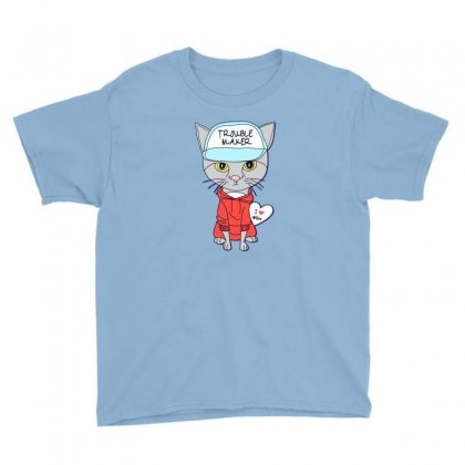 I Love Cat Youth Tee Designed By Disgus_thing