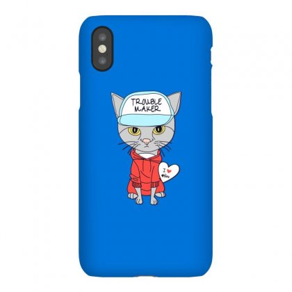 I Love Cat Iphonex Case Designed By Disgus_thing